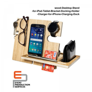 Wooden Mobile Holder