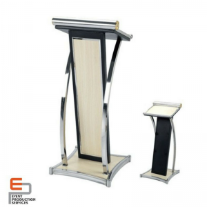 metal lecture stand