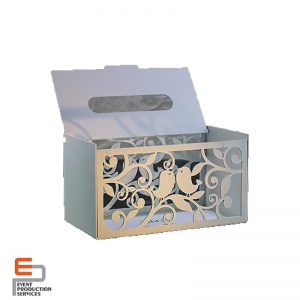 metal tissue box