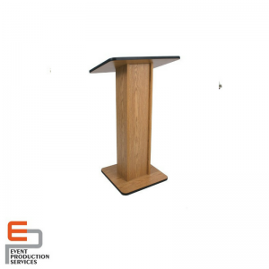 Wooden Lecture Stand