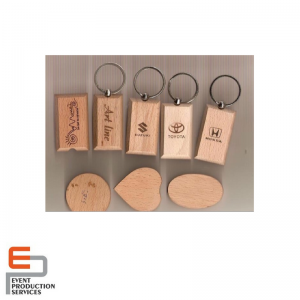 Wooden Key Ring