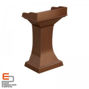 Wooden Lecture Stand-